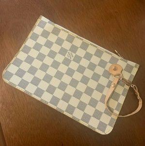 Louis Vuitton Wristlet Clutch Pouch Pochette Bag